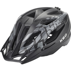 KED Street Jr. Pro Casque Enfant, black anthracite